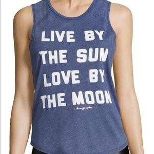 "Spiritual Gangster ""Live by the Sun"" tank size: L"